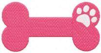 Pink bond for loving pets