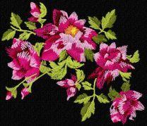 Pink vintage flower 43