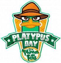 Platypus Badge