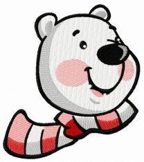 Polar bear face 2