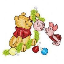 Winnie the Pooh and Piglet Before Christmas