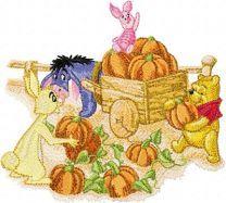 Winnie Pooh and company