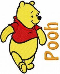 Pooh walking 4