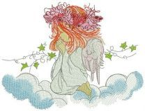 Praying angel 5