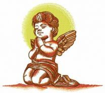Praying angel 7
