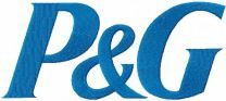 Procter and Gamble logo machine embroidery design