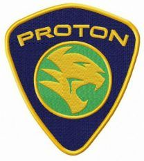 PROTON Holdings Berhad logo embroidery design