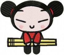 Pucca Likes Sushi