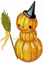 Pumpkin scarecrow 2