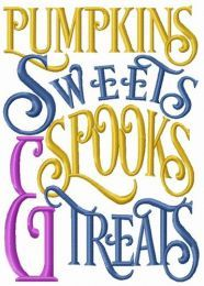Pumpkins, sweets, spooks & treats