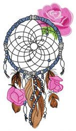 Romantic dreamcatcher