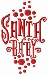 Santa baby 1