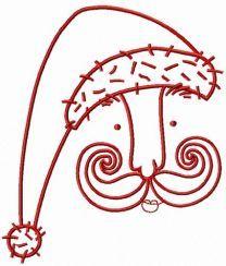 Santa's face 6