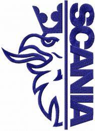 Scania one color logo