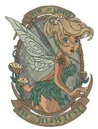 Scared Tinkerbell