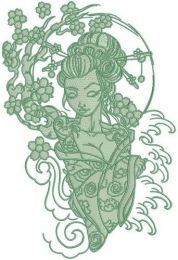 Shy geisha 3