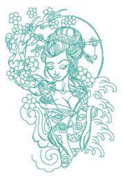 Shy geisha 2