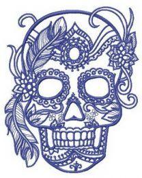 Skull of aristocrat