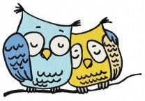 Sleepy owls 2
