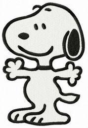 Snoopy let's hug