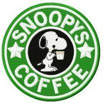 Snoopy's coffee
