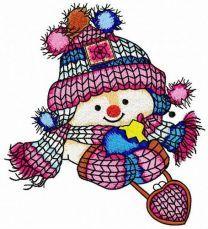 Snowman's date