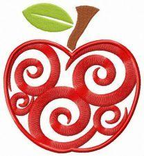 Spiral apple