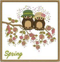 Spring owls 2