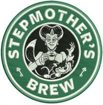 Stepmother's brew machine embroidery design