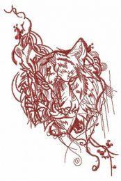 Stern look of tiger
