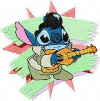 Stitch as Elvis
