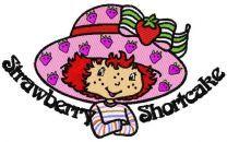 Strawberry Shortcake happy