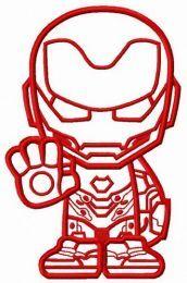 Stubborn Iron Man