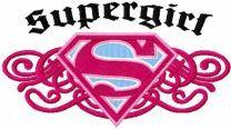 Supergirl vintage logo