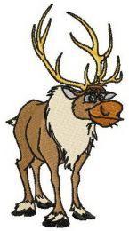 Sven embroidery design