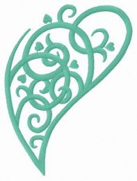 Swirl fancy leaf