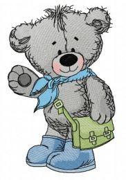 Teddy bear goes to school 2
