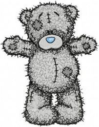 Teddy Bear Hello friend