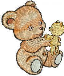 Teddy bear with teddy bear