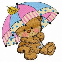 Teddy's rainy day 2