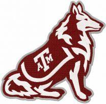 Texas A&M Aggies embroidery design