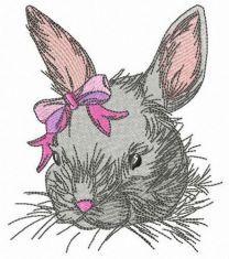 Tiny bunny girl