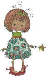 Upset girl fairy