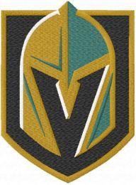 Vegas Golden Knights logo embroidery design