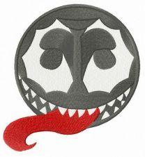 Venom embroidery design