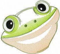 Very cute little frog