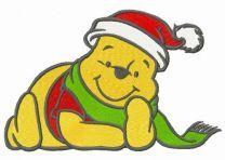 Winnie Pooh waiting for Xmas