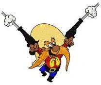 Yosemite Sam with guns