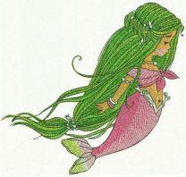 Young mermaid