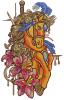 Gorgeous circus horse